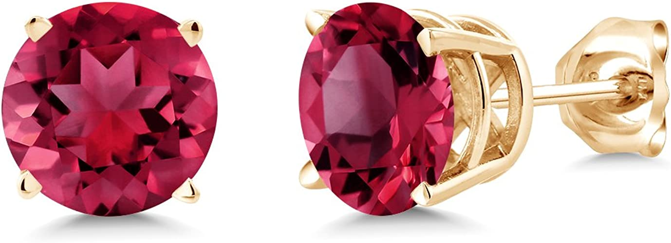 14k Gold Over Sterling Silver Dancing Gemstone Ring 2.00ct.