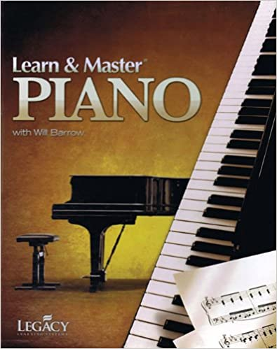 Learn and & master piano homeschool edition 11 dvds 5cds 2 books.