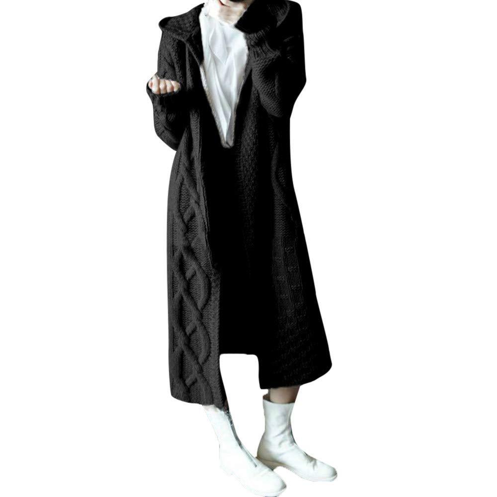 Maleya Frauen Winter Hoodied Outwear Umbilical Twist Strickjacke Bluse Langarm Hoodie Sweatshirt Jumper Kapuzenpullover Bow Bluse M/äntel Outweat Digitaldruck Hoodie Sweater Halloween