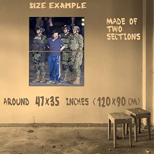 Amazon.com: USWay 186924 EL Chapo Guzman Sinaloa Cartel Drug ...