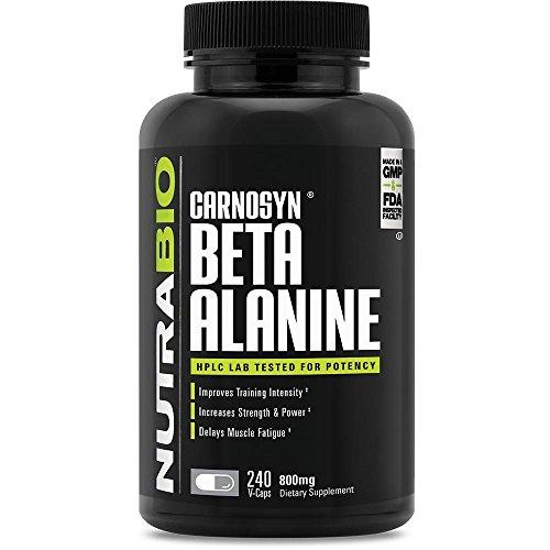 NutraBio Beta-Alanine Vegetarian Capsules