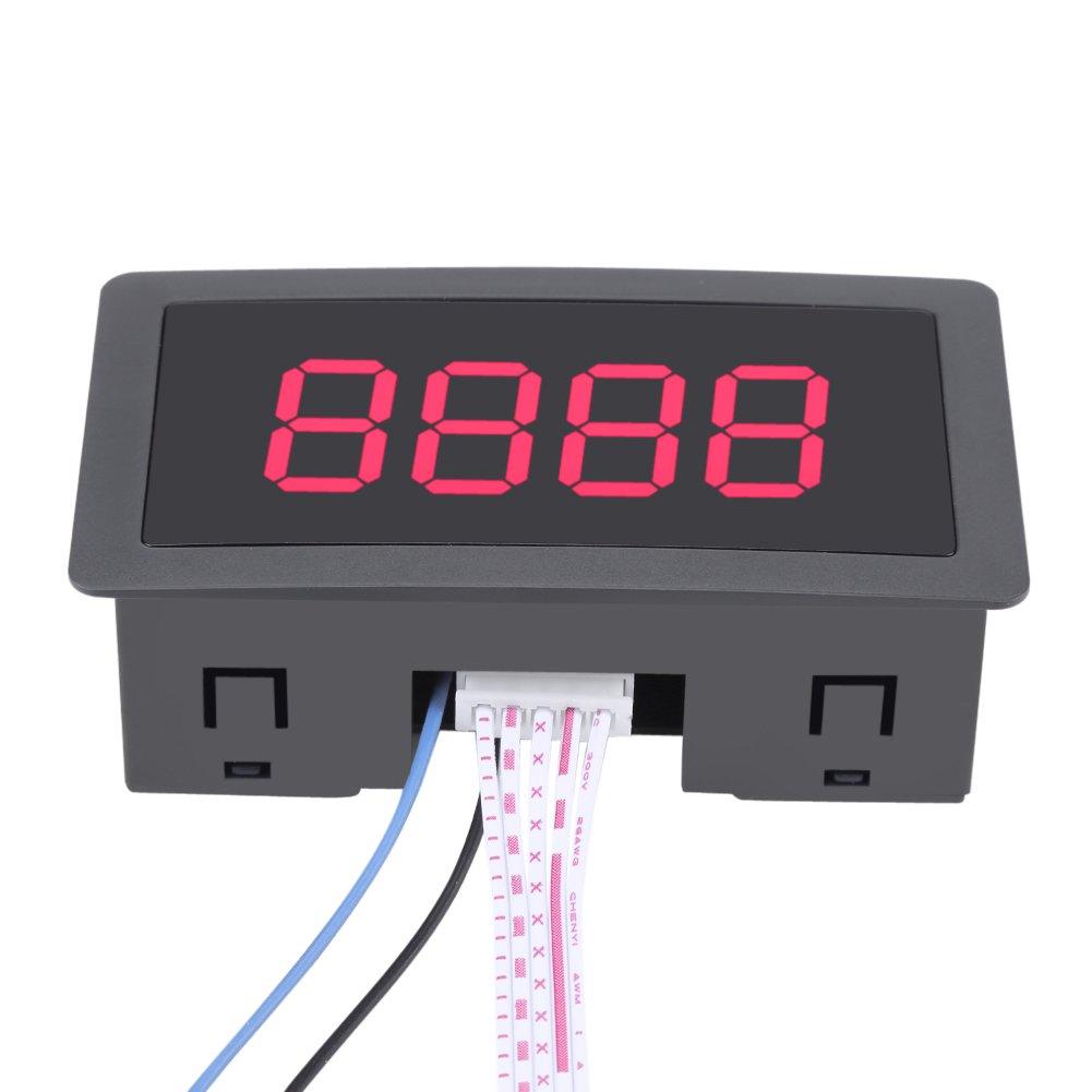 Contatore Digitale Orario A 4 Cifre Contatore A Pannello Digitale Contalitri Contatore Digitale LED 8-24V Blu