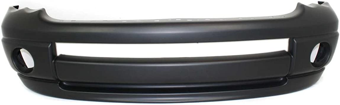 NorthAutoParts 5073002AC Fits Dodge Ram 1500 Ram 2500 Ram 3500 Front Primered Bumper Cover CH1000338