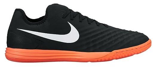 Nike Men's MagistaX Finale IN Indoor Soccer Shoe (Sz. 9) Black, Hyper
