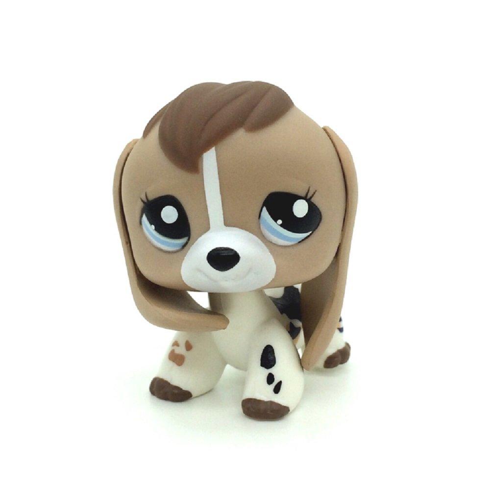 Amazoncom Zad Littlest Pet Shop Lps 2207 Tan White Beige Brown