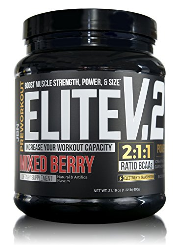 Pre-Workout Energy Supplement from JBN. Elite V.2 a Nitric Oxide Booster For Better Energy And Performance No Crash No Jitters. More Endurance FREE SAMPLES with every order!