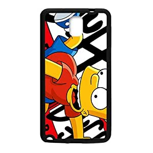 Happy Simpsons movie Case Cover For samsung galaxy Note3 Case