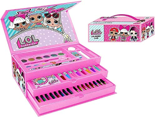 L.O.L Surprise Kids 52 pièces Art Case Toy