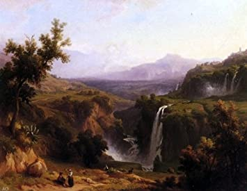 Amazon Franz Knebel Extensive View of the Cascades and Tivoly