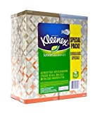 Kleenex Lotion Facial Tissue Upright (4 Boxes / 50 Sheets Per Box / 200 Total Tissues) (Designs & colors will vary) by Kleenex
