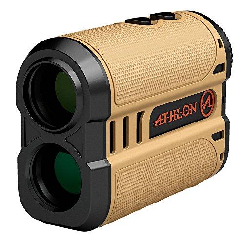 - Athlon Optics , Midas , Laser Rangefinder , 1200 Yard Desert Tan ,