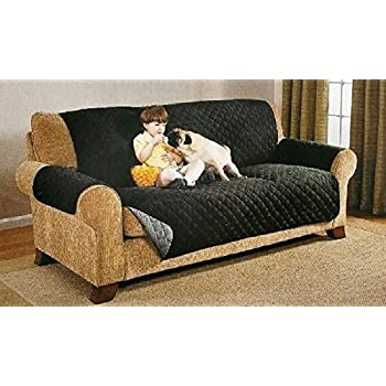 Amazon Com Reversible Furniture Protector Quilted Black