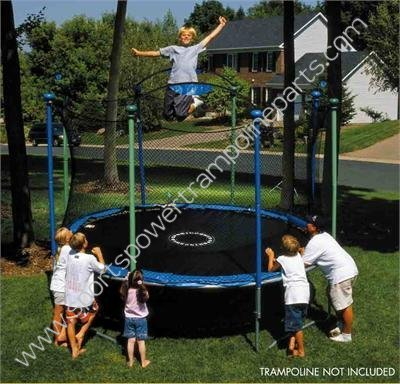 Trampoline Enclosure Mesh Net ONLY for 13