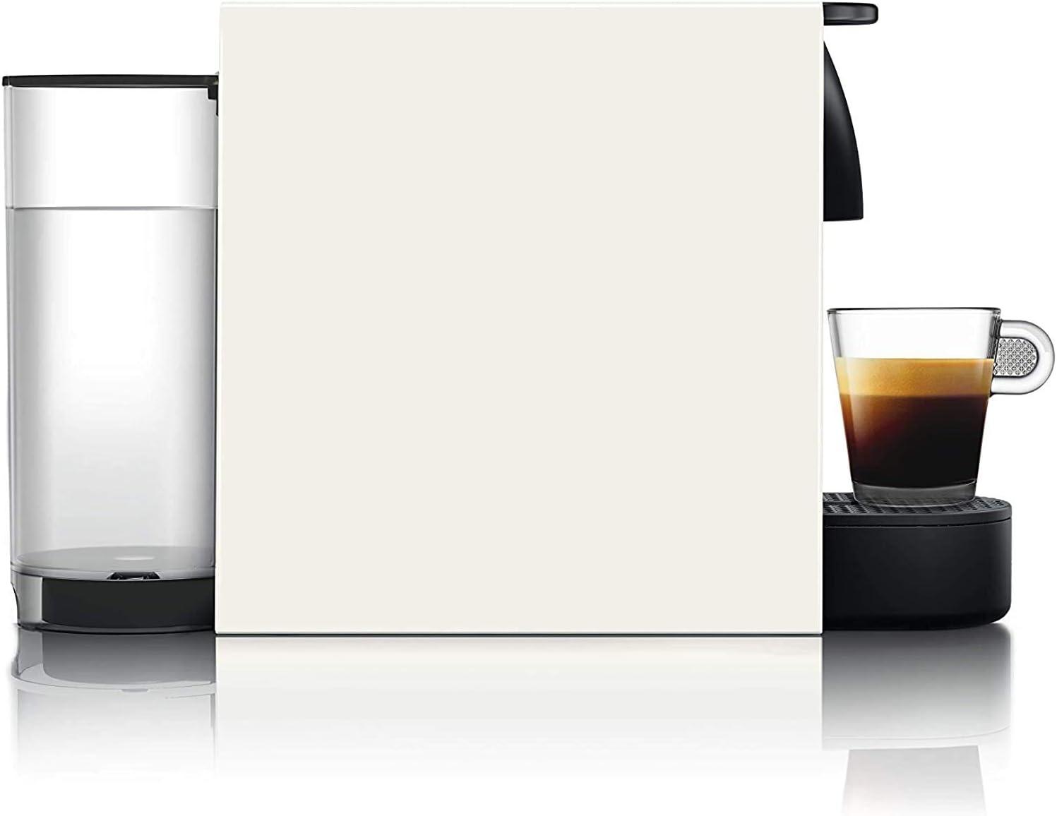 compacta 19 bares Cafetera monodosis de c/ápsulas color blanco Pack C/ápsulas bienvenida incluido apagado autom/ático