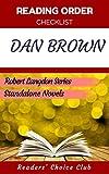 Reading order and checklist:  Dan Brown - Series read order:  Robert Langdon series, Standalone novels