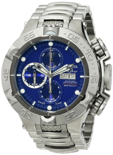 Invicta Men's 15490 Subaqua Analog Display Swiss Automatic Silver Watch
