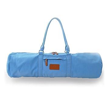 Lienzo Yoga Mat bolsas Carrier - Esterilla de cilindro bolsa ...