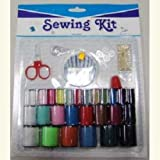 26 Pc Sewing Kit With Needles Scissors 72 pcs sku# 893577MA