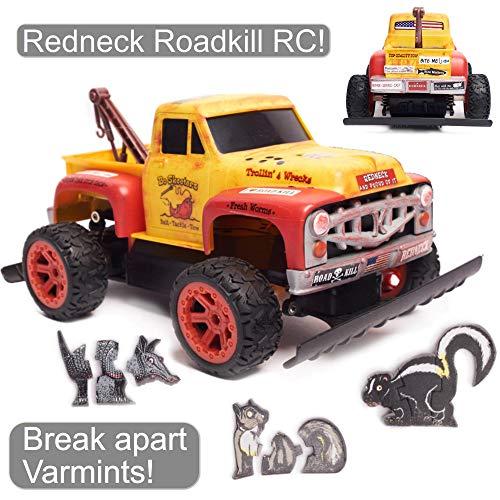 Redneck Roadkill Bo Skeeterz RC Tow Truck, Break Apart Foam Varmint Targets CUSTOMIZEABLE Bumper Sticker