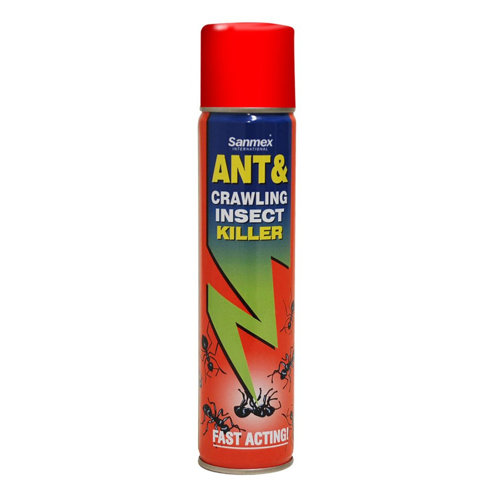 Sanmex Ant & Crawling Insect Killer - Fast Acting Spray