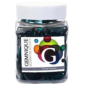 Gemnique X-Large Glass Gems - Teal (48 oz.)