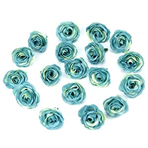 10pcs 3cm Mini Silk Artificial Rose Flowers Cloth for Wedding Party Home Room Decoration DIY Accessories Fake Flowers,Champange 4