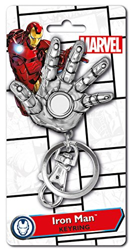 Marvel Iron Man Hand Pewter Key Ring (Iron Man Hands)