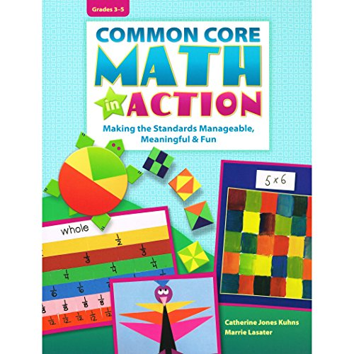 Essential Learning Products Grade 3-5 Common Core Math in Action Aid