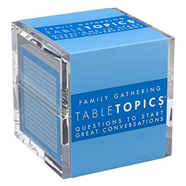 TABLETOPICS Family Gathering: Questions to Start Great Conversations