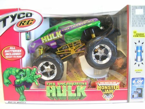 Tyco RC The Incredible Hulk Monster Jam Truck