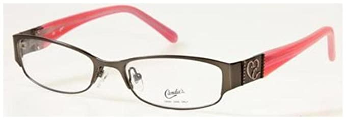 CANDIES Eyeglasses C PAYDEN Matte Gunmetal 50MM at Amazon Men\'s ...