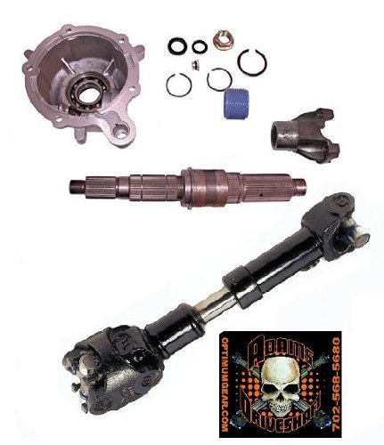 XJ SYE Kit and 1310 CV Driveshaft [231 only] by Adams Driveshaft
