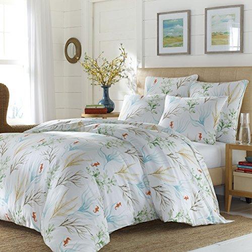 Stone Cottage 221512 Marin Comforter Set,Multi Coral,King