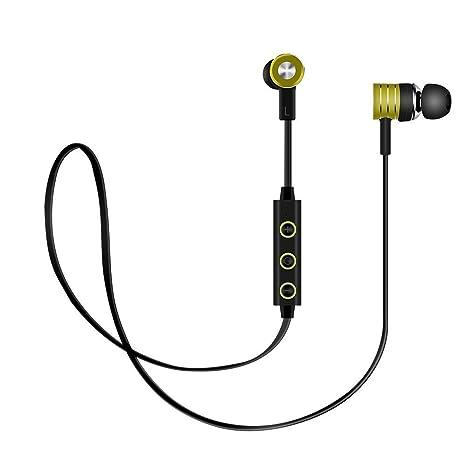 Auriculares Bluetooth, Auriculares inalámbricos, Penzo BT73 Auriculares magnéticos, Auriculares Deportivos con cancelación de