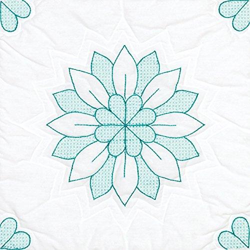 - Jack Dempsey Mandala Flower Stamped Quilt Blocks (6/Pack), 18