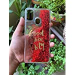 Cat Care Good Vibes Only Designer Quicksand Moving Liquid Floating Waterfall Girls Soft TPU Mobile Back Case Cover for…