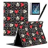GSPSTORE iPad 9.7 2018/2017 Case with Auto Sleep/Wake Mickey and Minne iPad case Also Fit iPad Air 2 / iPad Air#8
