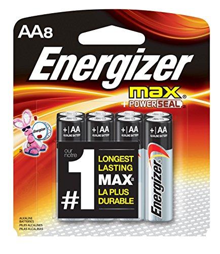 Energizer AAA Batteries, Max Alkaline (8 Count)