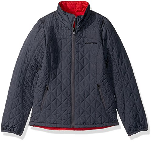 Arctix Girls Hanna Ultra Lite Reversible Quilted Jacket, X-Large, Steel
