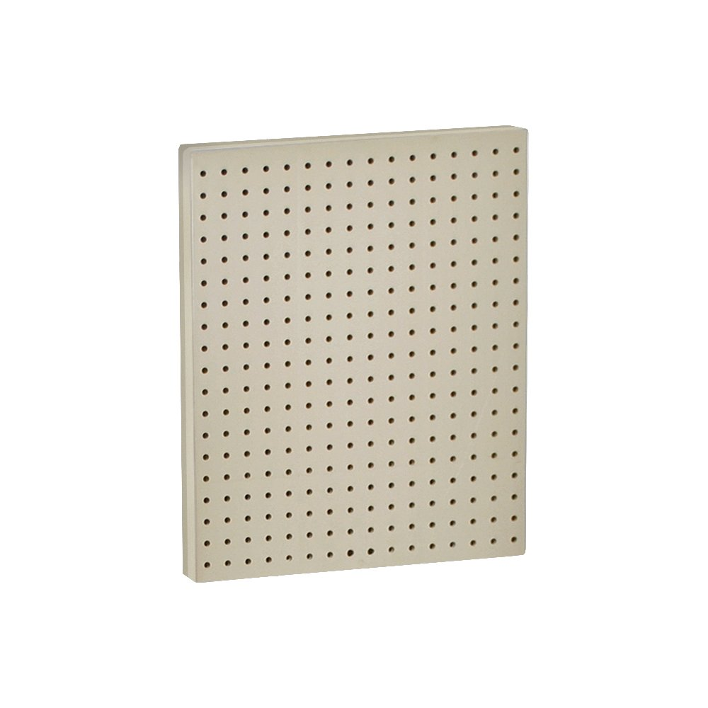 Azar 771620-ALM Pegboard 1-Sided Wall Panel, Almond Solid Color, 2-Pack