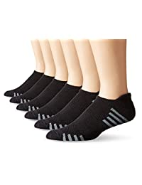 Hanes Men's 6-Pack FreshIQ Sport Cuts Heel Shield Socks