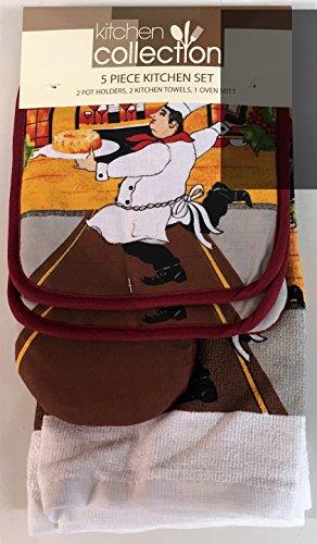 italian chef kitchen curtains - 4