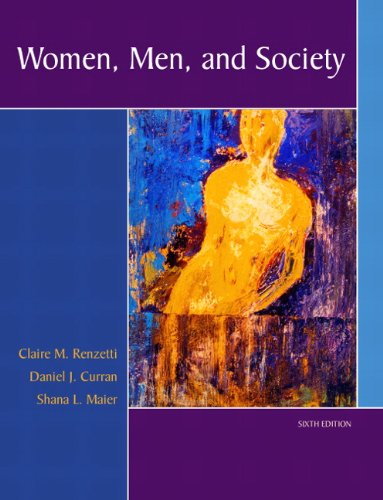 Women, Men, and Society (6th Edition) by Pearson