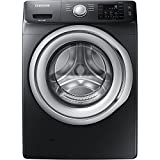 Samsung 4.5CuFt Black Stainless Front Load Washer WF45N5300AV Deal (Small Image)