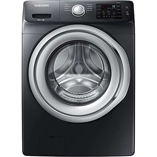 Samsung WF45N5300AW 4.5 Cu. Ft. Black Stainless Front Load Washer