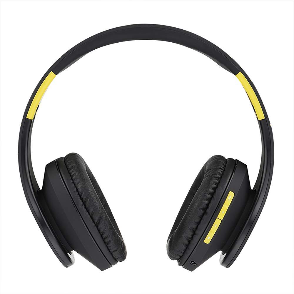 PowerLocus P2 - Auriculares Bluetooth inalambricos de Diadema Cascos Plegables, Casco Bluetooth con Sonido Estéreo Micro SD/TF, FM con micrófono y Audio ...