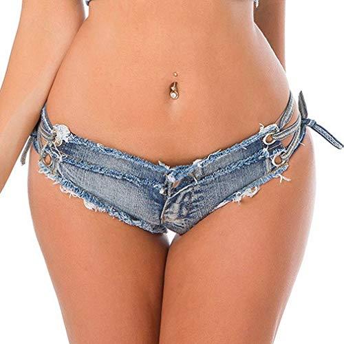 Cut Donna Comvip Blue Off Vita Club Bassa Jeans Style10 Denim Bottino Sexy Thong AnBxwqB