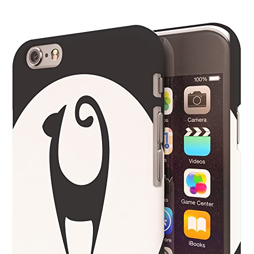 Koveru Back Cover Case for Apple iPhone 6 - Mew Cat in the full moon