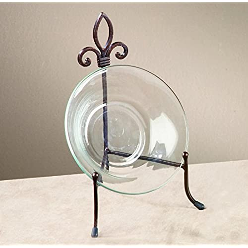 & Decorative Platter with Stand: Amazon.com