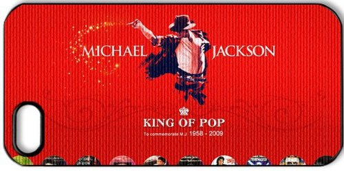 Dance pop star Michael Jackson Singer Cool iPhone 5 Hard Cover Case Protector your (Cheap Michael Jackson Thriller Costume)